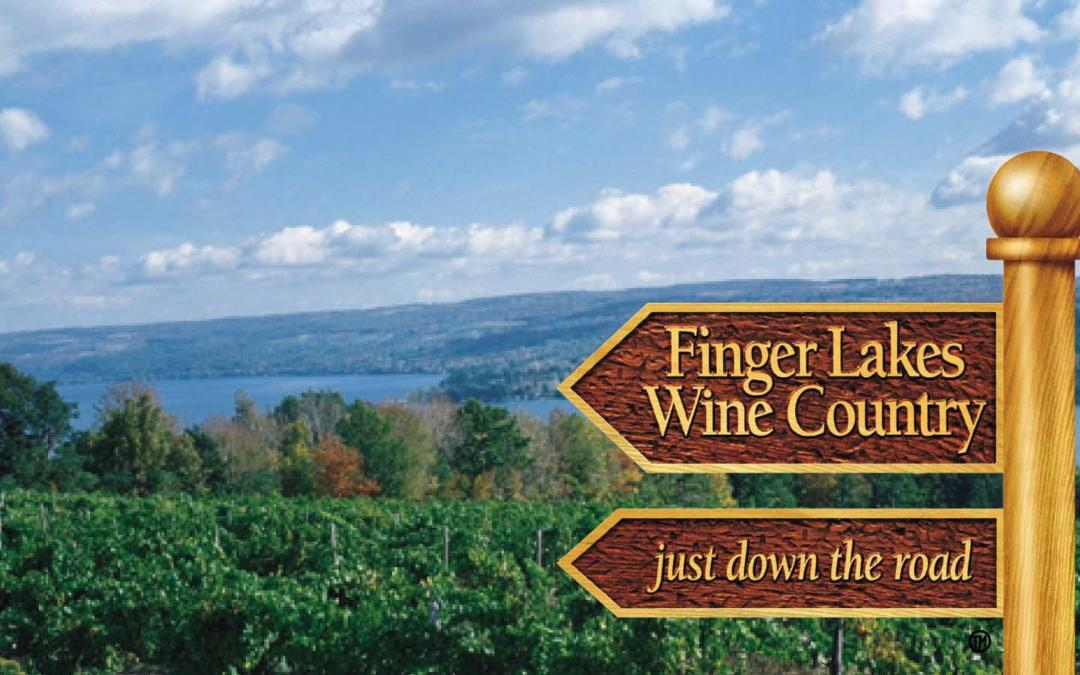 Two Buttons Deep At One Of Upstate's Finest Wineries – Cayuga Lake Wine Trail