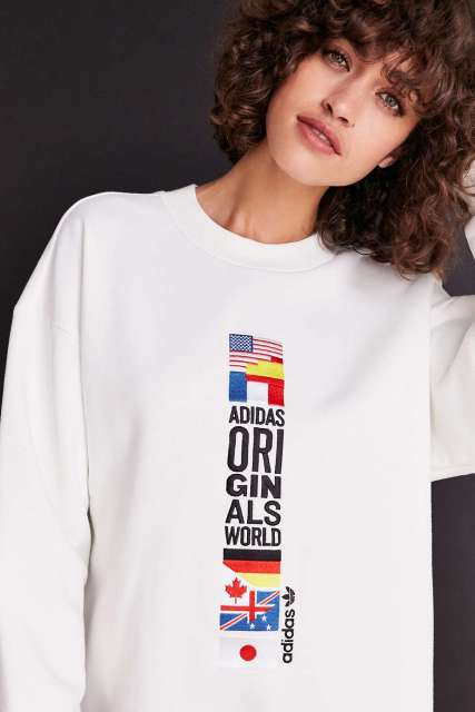 Adidas Originals Archive Pullover, Urban Outfitters | $90