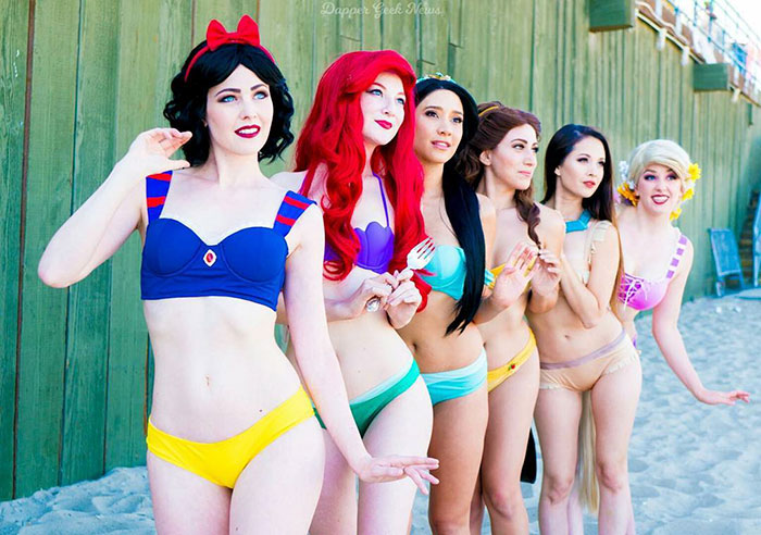 These New Disney Bikinis Are The Key For An Enchanted Summer