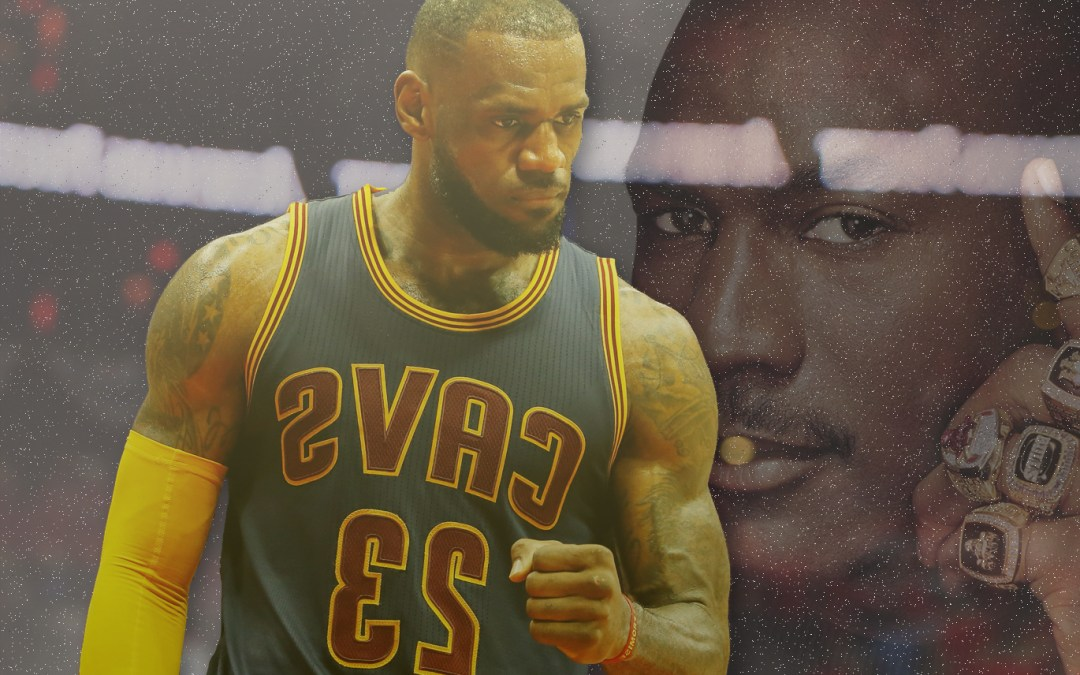 For The First Time In His Career G.O.A.T Status Is Within Reach For LeBron James