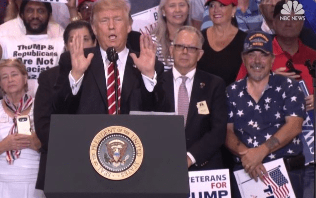 Two Buttons Deep Tuesday Featuring Arizona Man At Trump's Rally With Bathroom Issues
