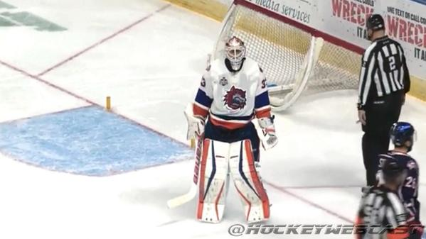 USA Hockey May Pick David Leggio For Olympic Roster, The Goalie Who Won't Stop Knocking Over The Net When Facing A Breakaway