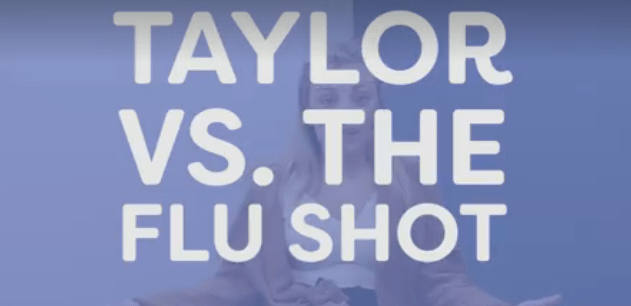 Just a Minute: Taylor vs. The Flu Shot