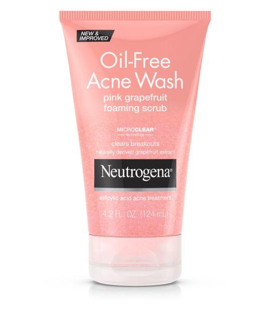 Neutrogena Pink Grapefruit Foaming Scrub, $8.49