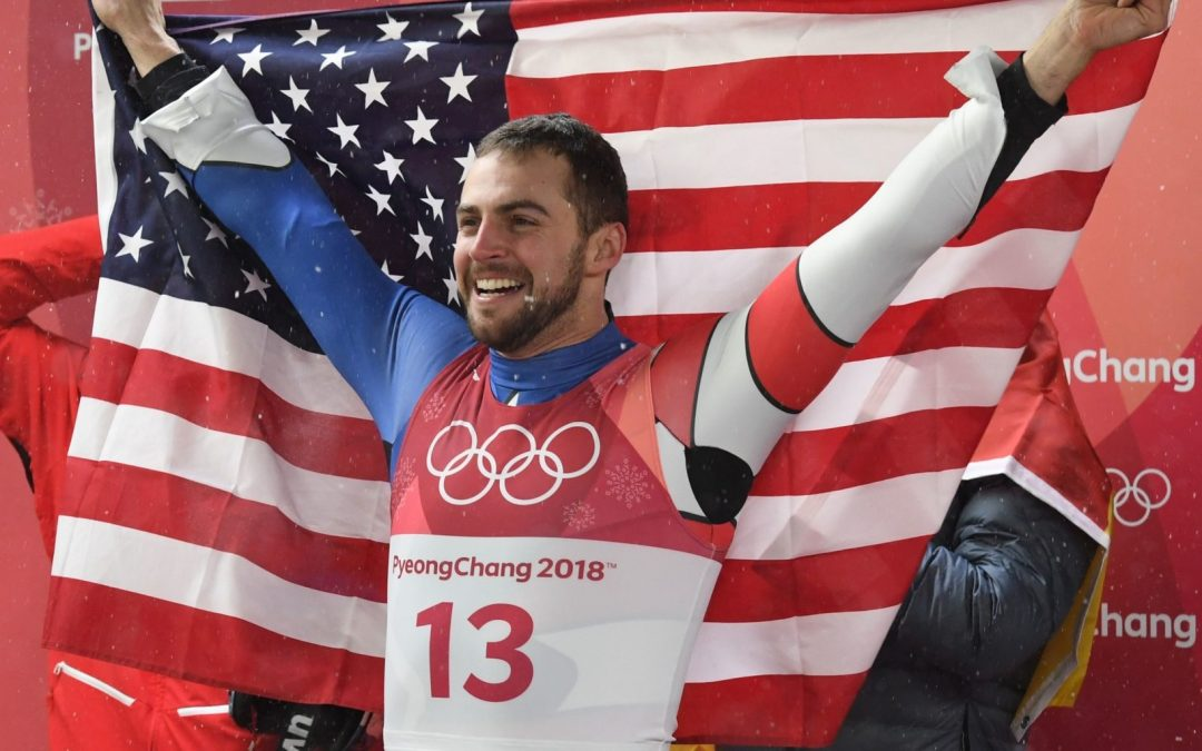 Olympic Silver Medalist from Saranac Lake Emerges as the Internet's New Heartthrob and is an Adirondack 46er to Boot!
