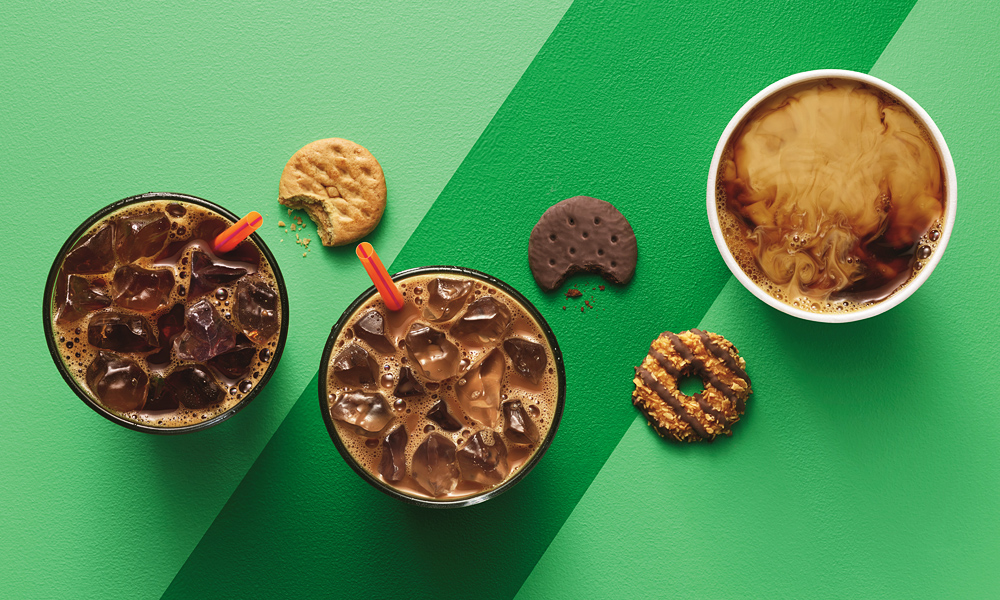 Dunkin Donuts is Now Serving Girl Scout Cookie Coffee