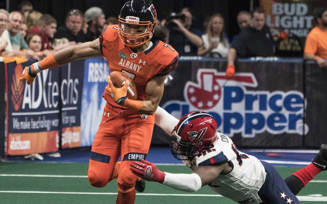 Albany Empire's Malachi Jones is Heading to the NFL