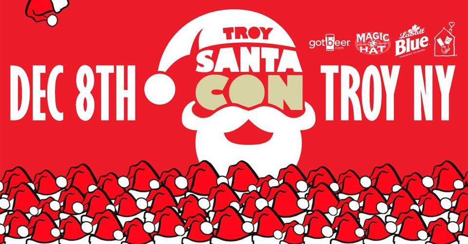 The 2BD Squad is Hyped For The First Troy SantaCon December 8