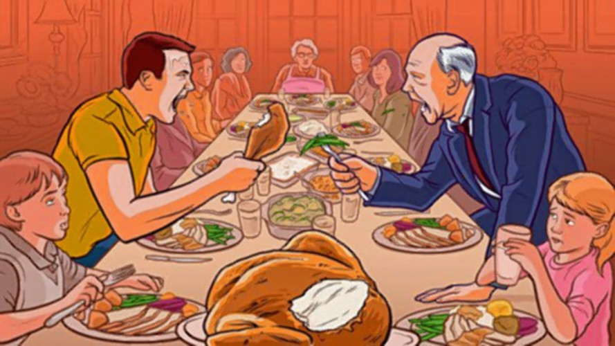How do thanksgiving two