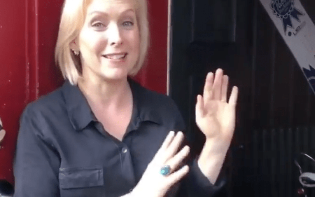 Politics Aside, Gillibrand Has Her Priorities Straight for 2020