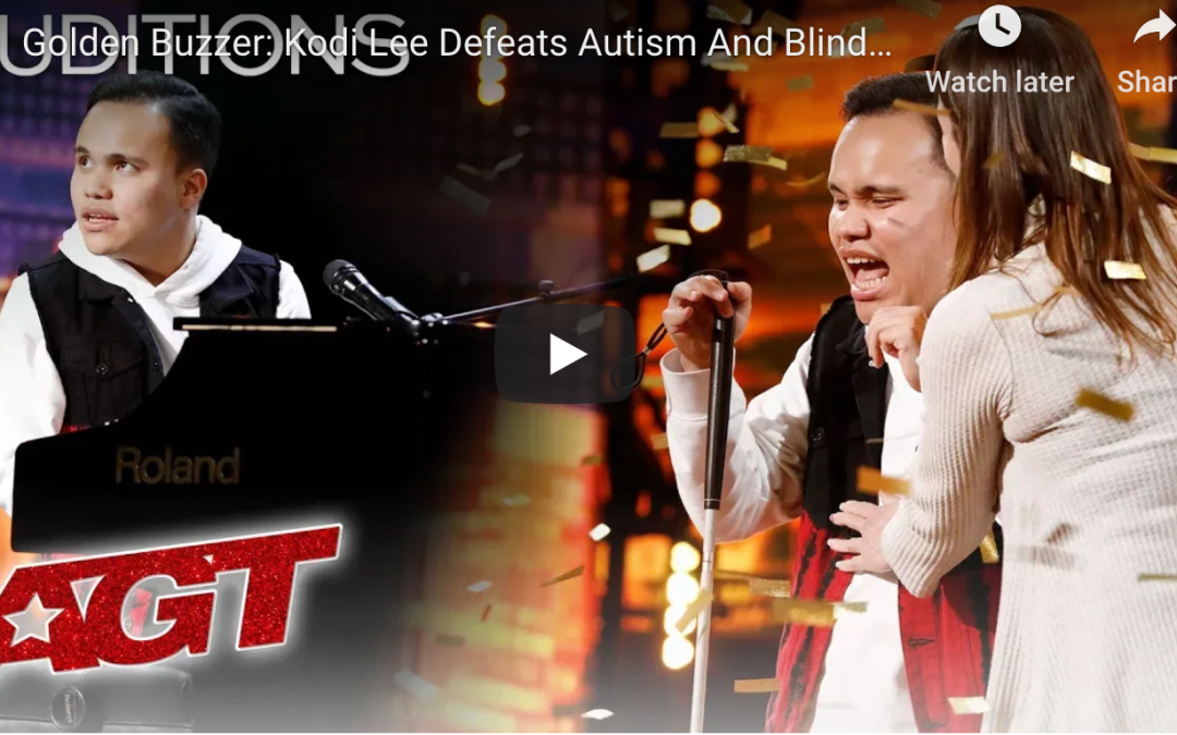 If Kodi Lee, The Blind, Autistic Piano Player Does Not Win AGT, Then It's Time to Cancel AGT