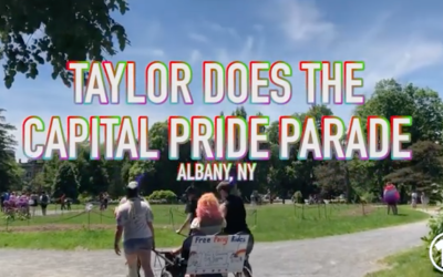 Taylor Does the Capital Pride Fest