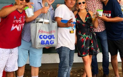 We Handed Out Free Ice Cream to the Saratoga Backstretch Workers