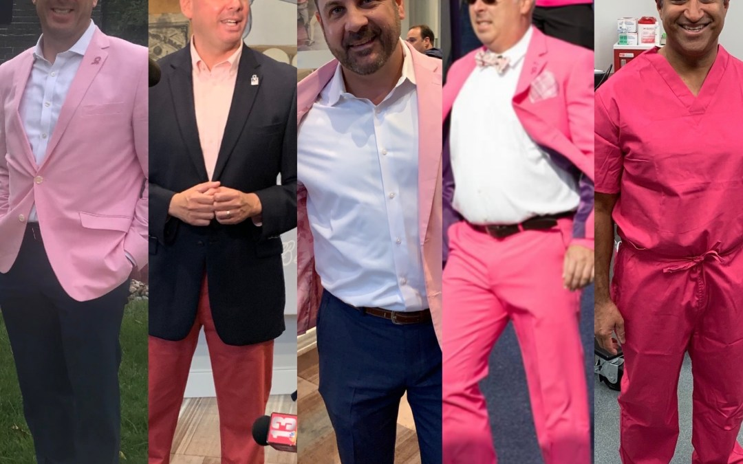 The Capital Region's Best Dressed of the Week: Real Men Wear Pink Edition