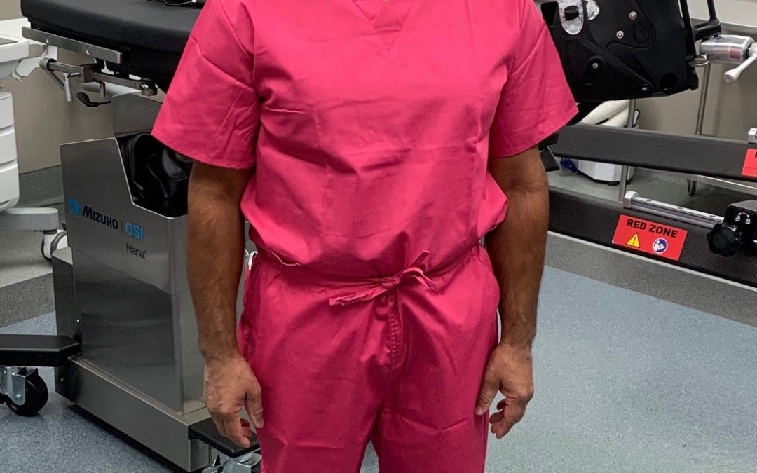 Congrats to Dr. Das, Our Best Dressed Winner: Real Men Wear Pink Edition