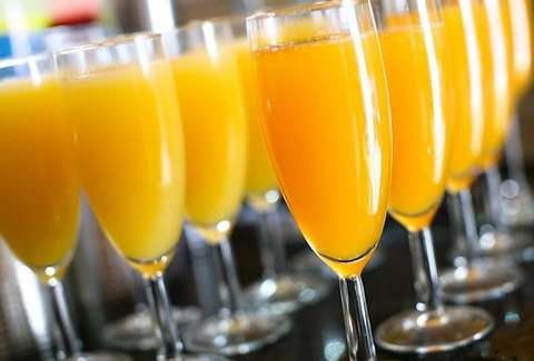 We Will Break The Record For The Most Mimosas Made In A Morning At Manory's on Sunday, November 10