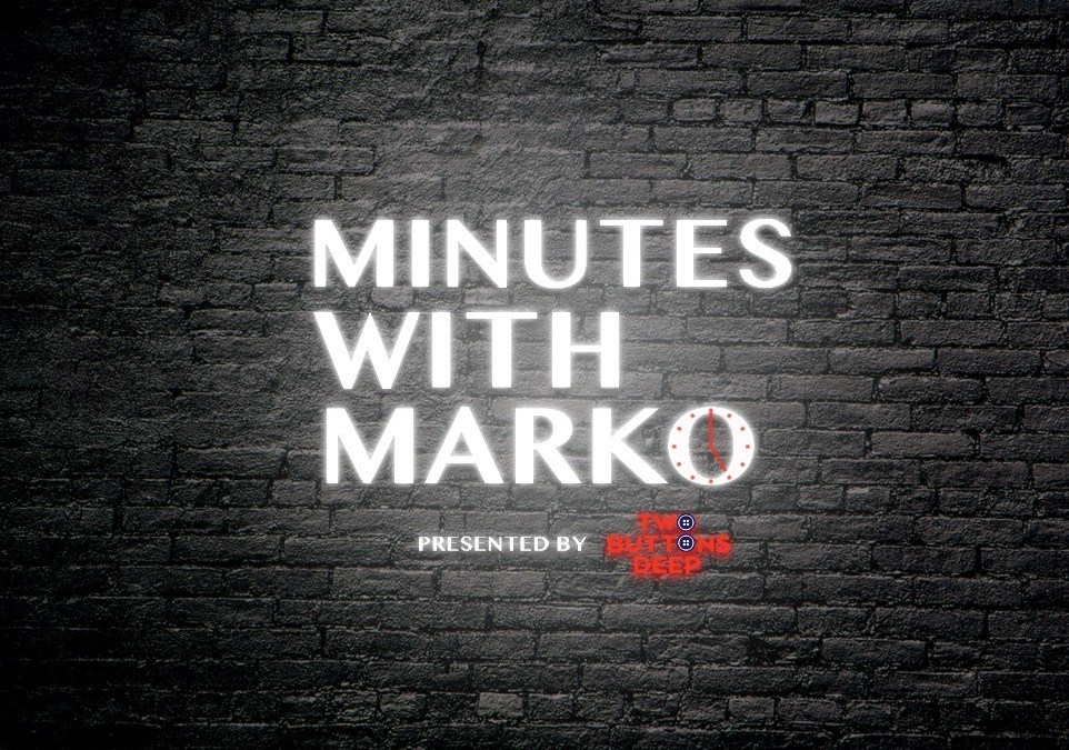 Minutes with Marko: Staying Away from Sound Guy