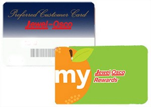 Jewel reward card