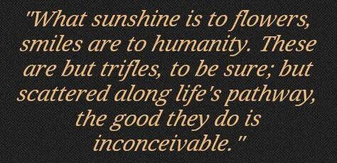 smiles quote