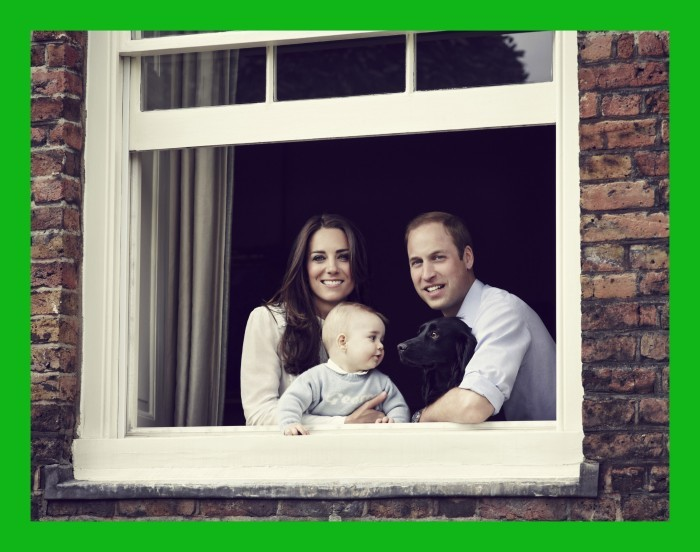 BESTPIX: The Duke And Duchess Of Cambridge Release Family Photograph Ahead Of Tour To Australia & New Zealand
