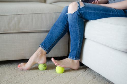 tennis-balls-feet