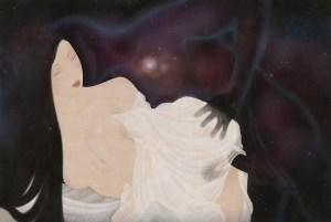 to display an erotic cosmic tantric shunga painting by Swedish artist Senju.