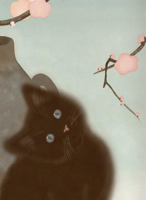 Plum kitten