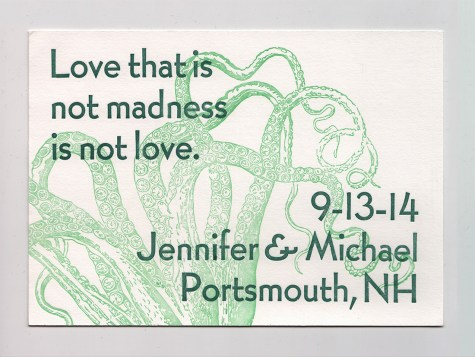 Love & Madness Save the Date