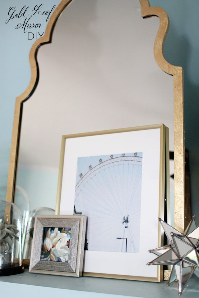 gold leaf mirror final 2 | Two Delighted copy