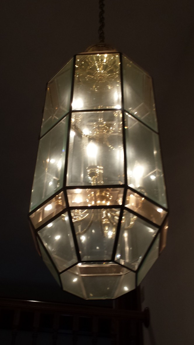 We Clean All Kinds Of Chandeliers Ranging From Brass Fixtures To Glass Enclosed And More 20170821 112213 Before Cleaning