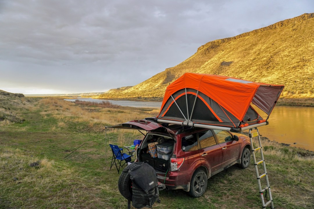 Subaru Forester Off Road >> Subaru Forester Camper How We Turned Our Car Into The