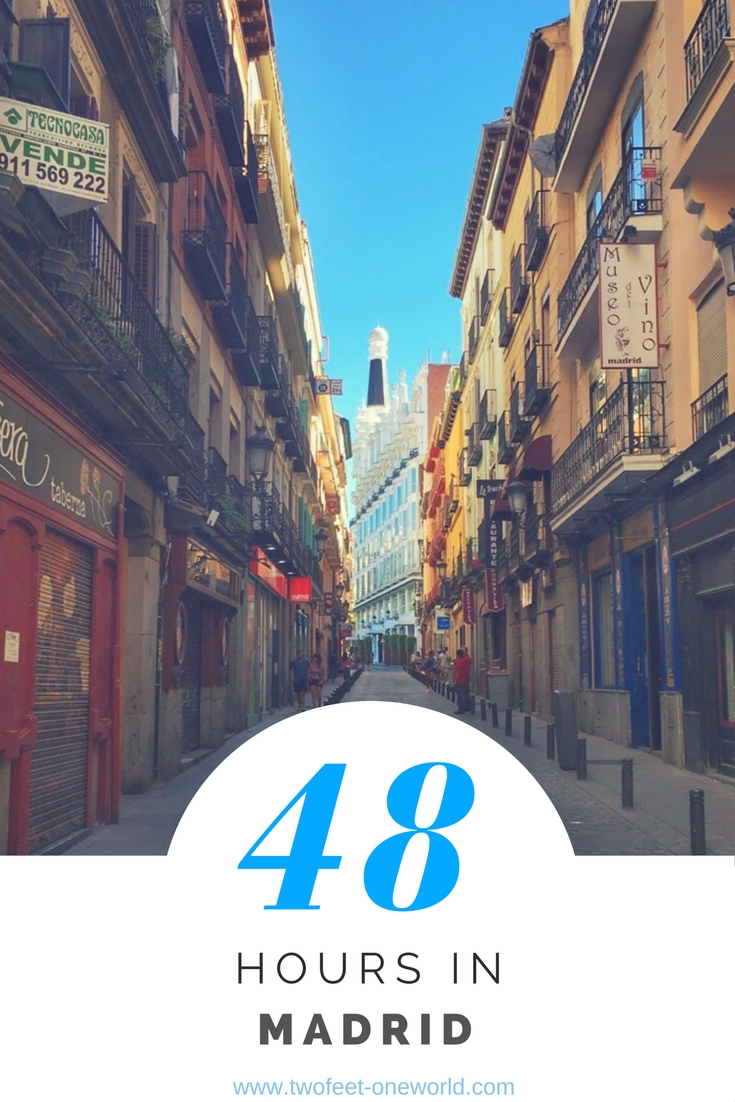 48 Hours in Madrid, Spain