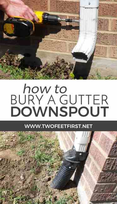 Have you thought about where the water from your gutter are draining, it could be into your house. Here is how to bury a gutter downspout to move the water away from the house.