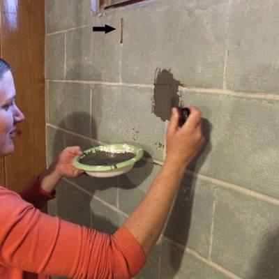 Painting Basement Walls