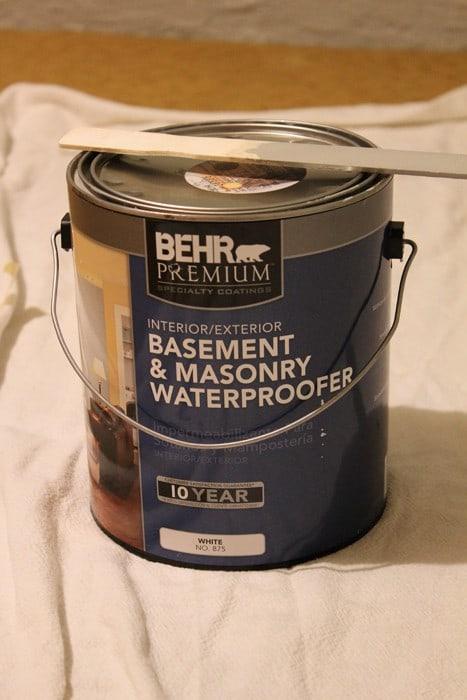 Behr Basement & Masonry Waterproofer Paint
