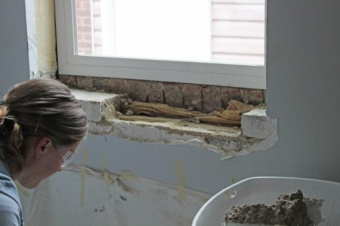 Removing Brick
