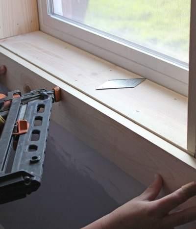 Installing Window casing