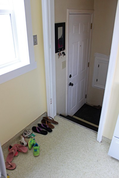 Entry Shoe storage