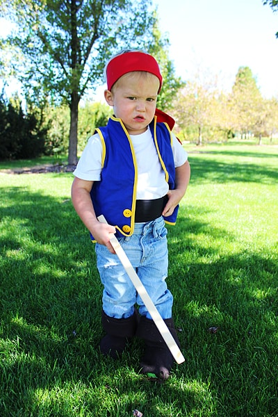 Jake and the Neverland Pirate Costume