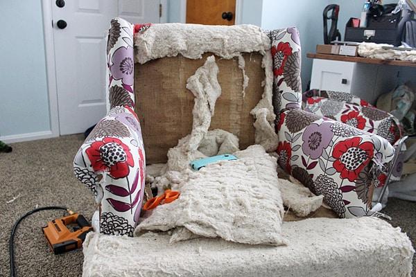 DIY Upholstery Chair