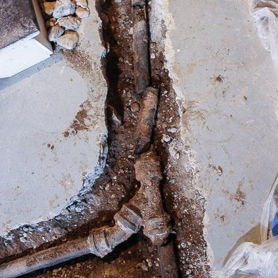Fixing Our Main Sewer Line
