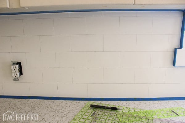 diy subway tile backsplash 5