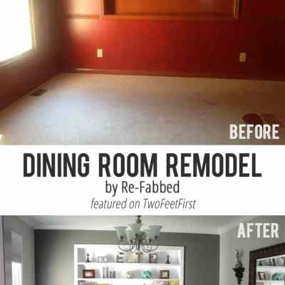 Remodel Love – Dining Room by RE-FABBED