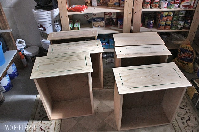 build a cabinet drawer