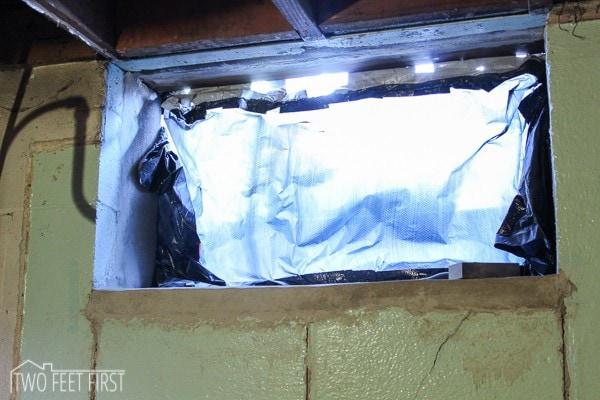 Install Basement Window 2