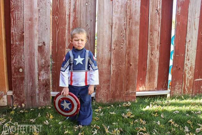 sew captain america costume