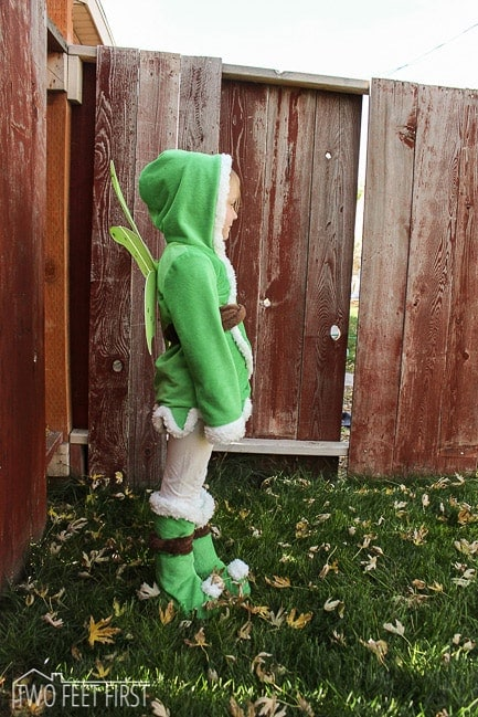 child tinkerbell costume