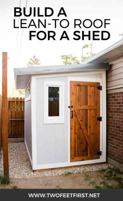Are you wondering how to build a lean-to roof for a shed? Here is how you can build one plus the whole process of building a shed.
