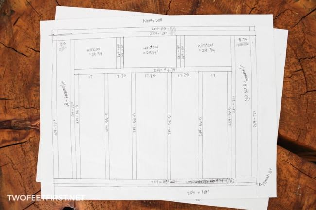 Create a shed blueprint aka the plans twofeetfirst create a shed with these blueprints malvernweather Image collections