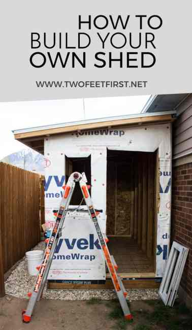 Build A Lean To Roof For A Shed